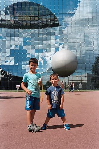 Futuroscope con niños