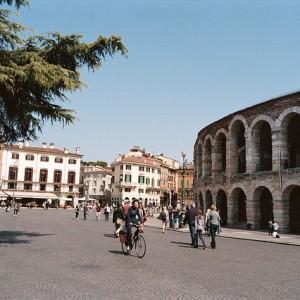 Aledaños de la Arena de Verona