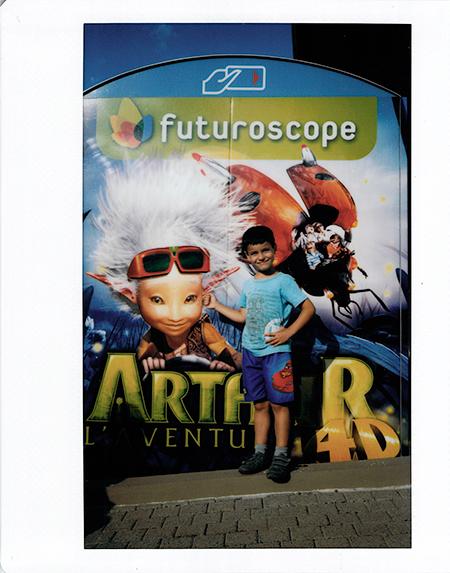 Futuroscope Arthur y los Minimois