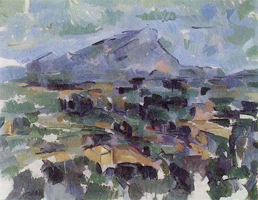La montaña Sainte-Victoire, Paul Cézanne