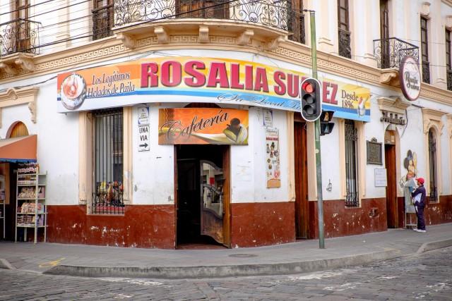 Ecuador Quito - Rosalia Suarez Helado Paila