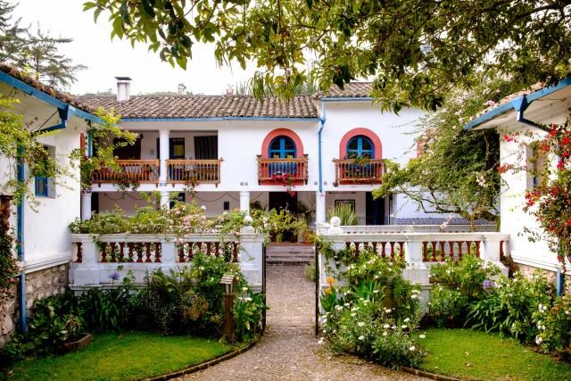 Quito Ecuador - Hacienda Cusin