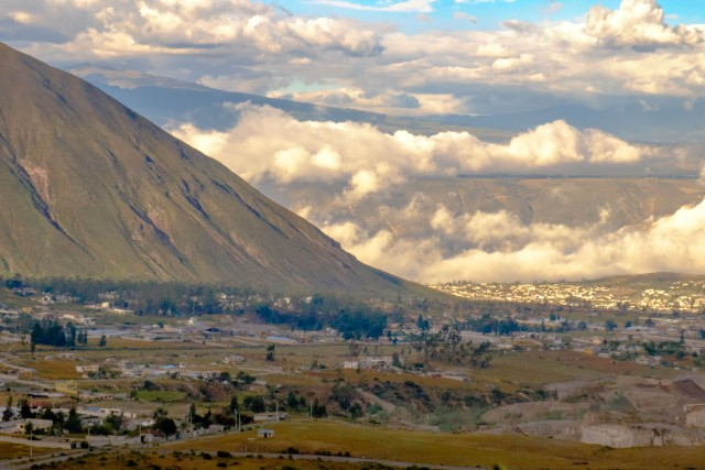Quito Ecuador - efecto fohn