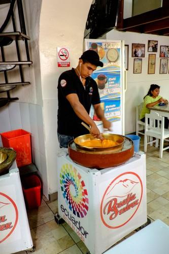 Quito Ecuador - helado de paila