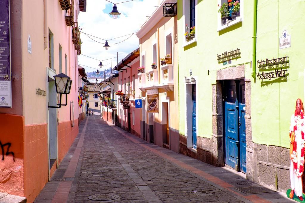 Quito Ecuador - la ronda