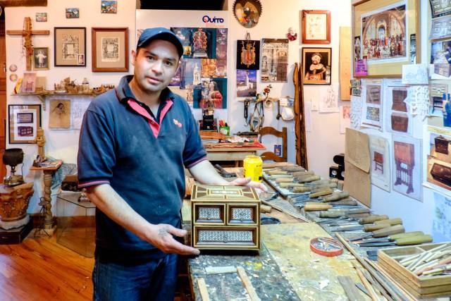 Quito - artesano