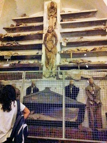 Sicilia Catacumbas Capuchinos Palermo