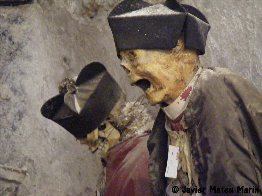 Las Catacumbas de los Capuchinos en Sicilia