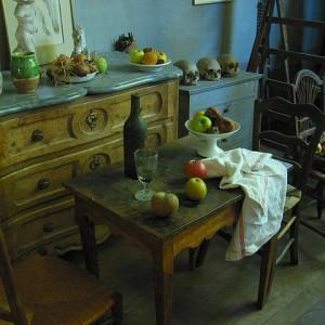El taller de Cézanne. Por Steve Wilde.
