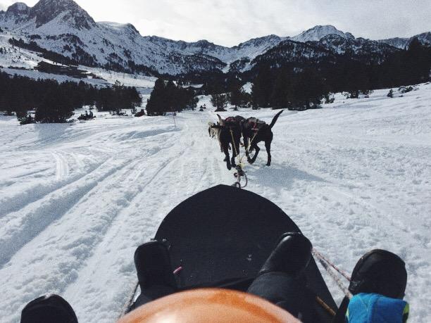 Paseo en trineo de perros, Grandvalira