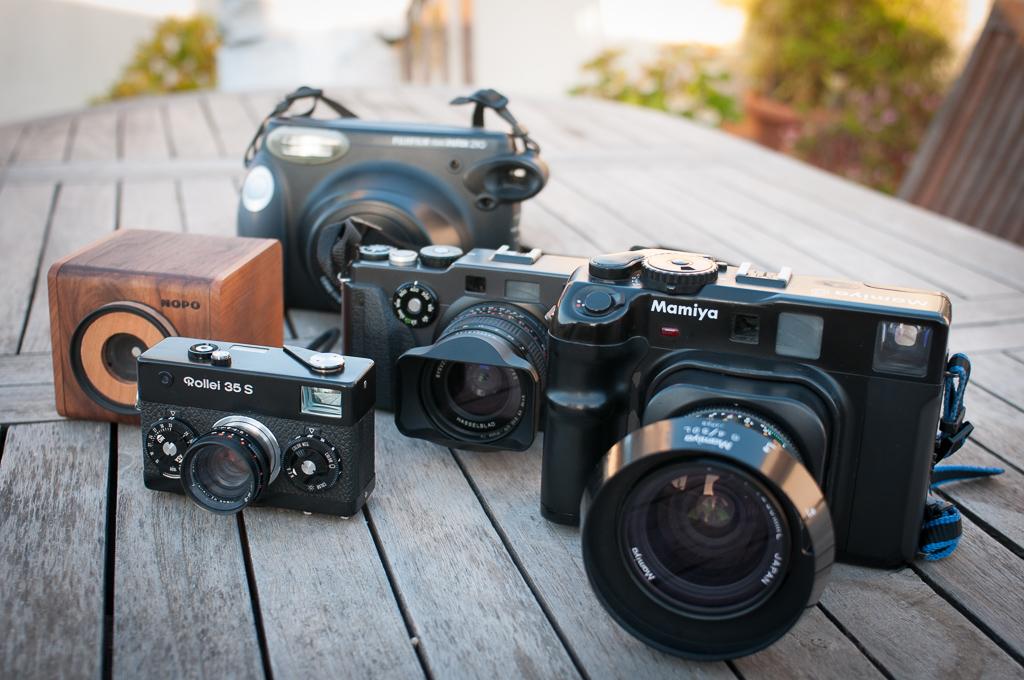Mis 5 cámaras fotográficas de viaje