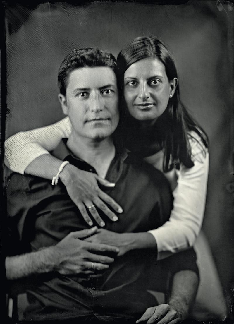 Nuestro retrato al colodión húmedo
