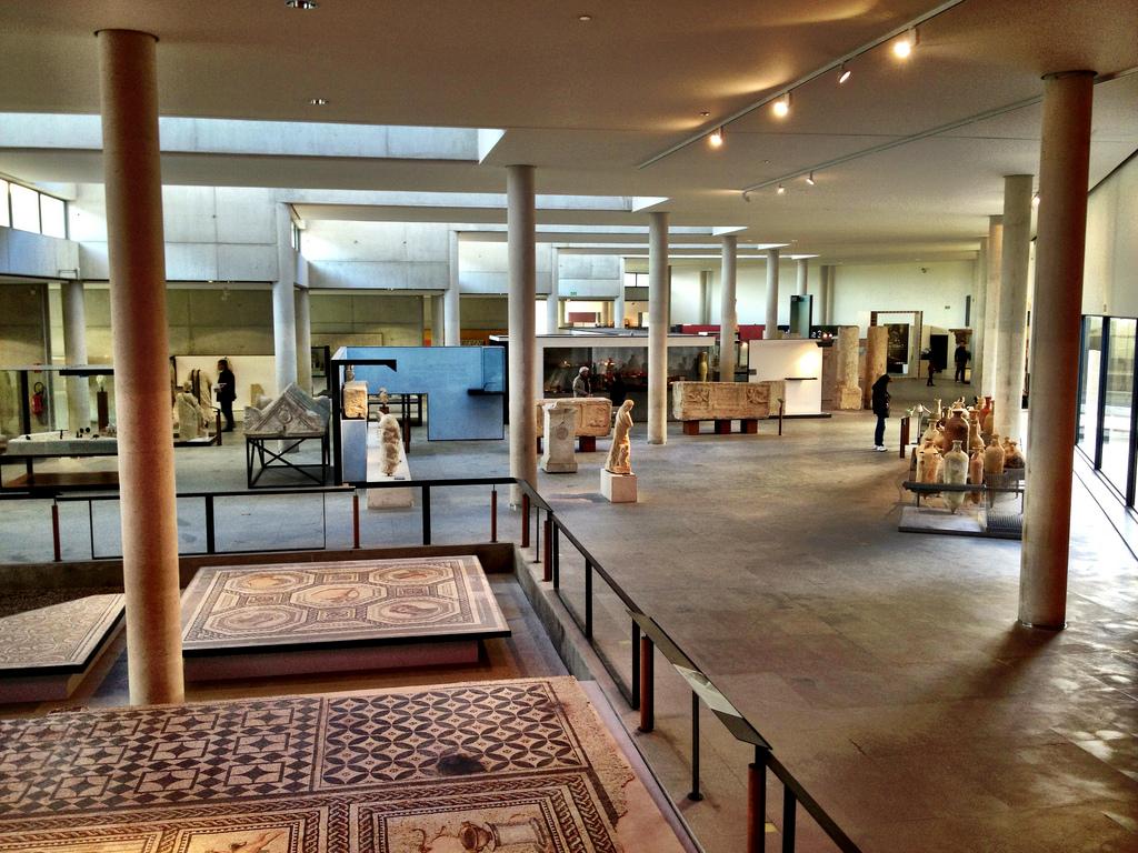 Interior del Museo de la Arles antigua