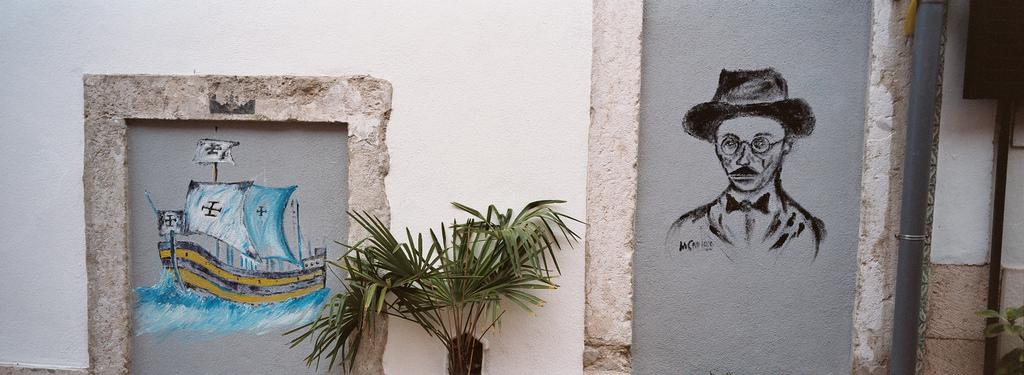 La iconografía de Fernando Pessoa se encuentra por toda Lisboa