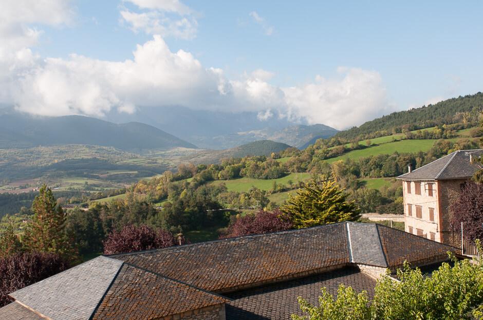 Vistas desde el Hotel Muntanya