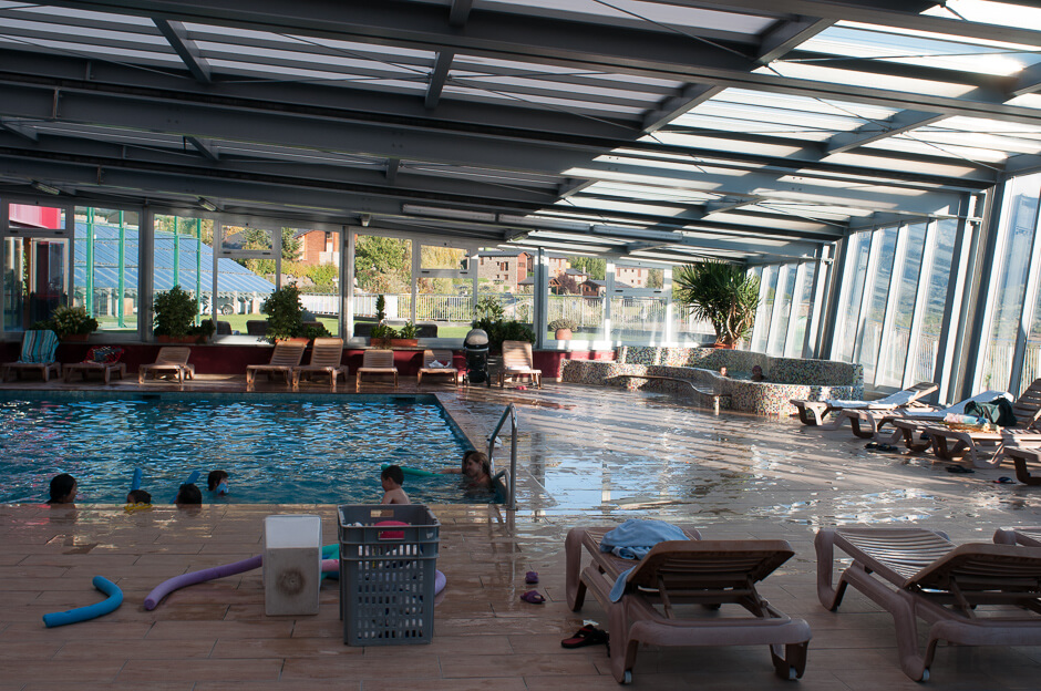 Hotel Muntanya, piscina climatizada