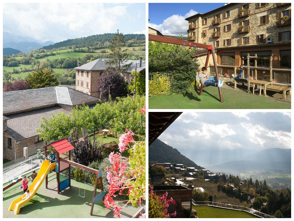 Vistas del Hotel Muntanya