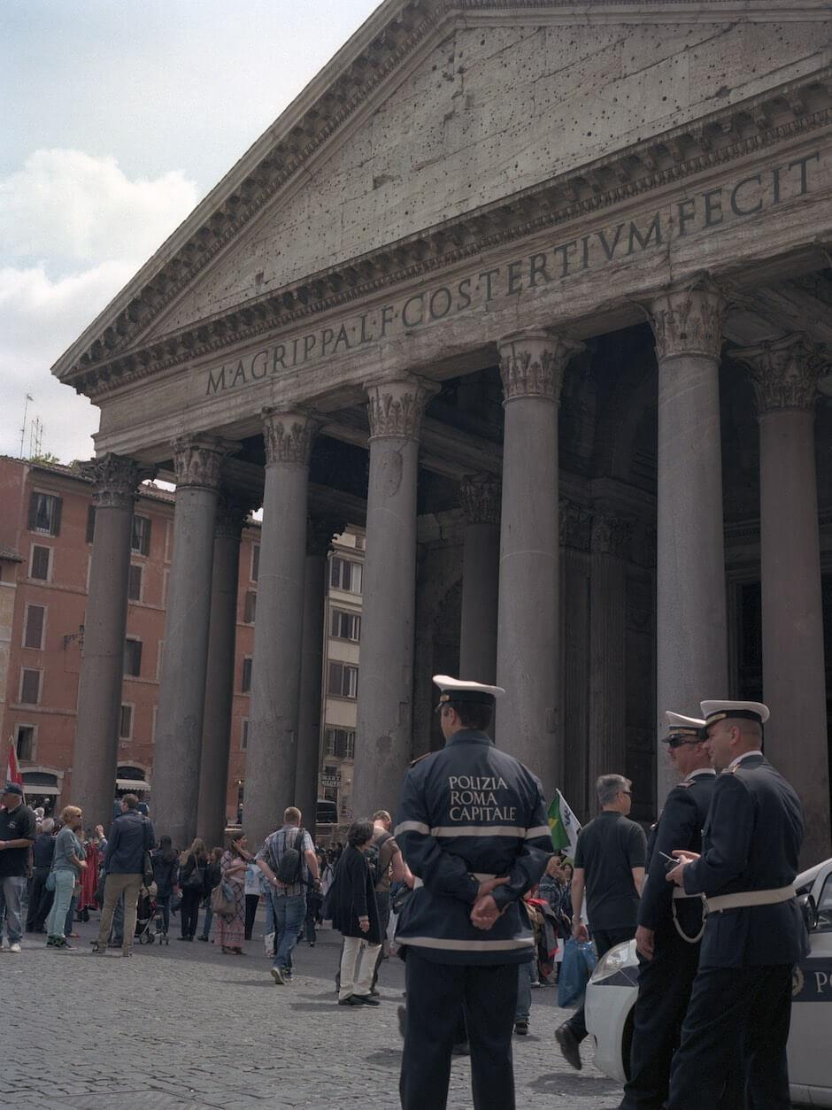 Proteger el Panteón