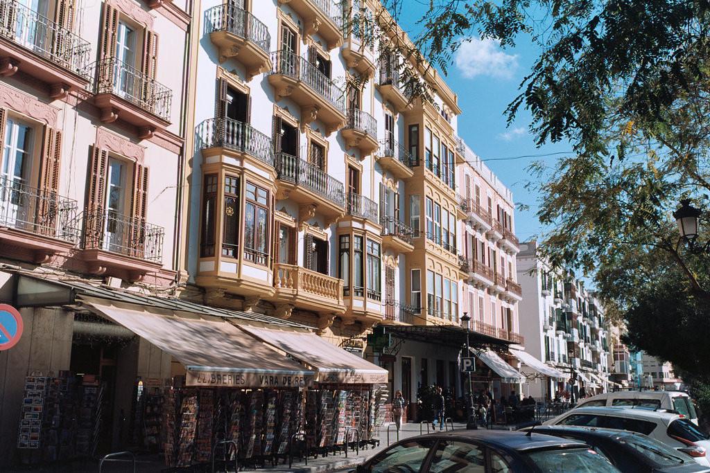 Fachadas de Vara de Rey, Ibiza