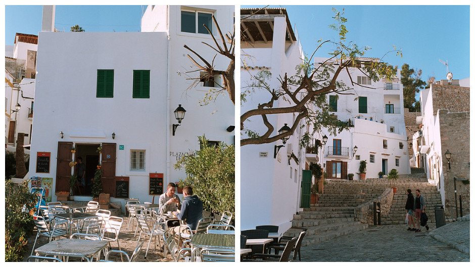 Calles de Dalt Vila, Ibiza