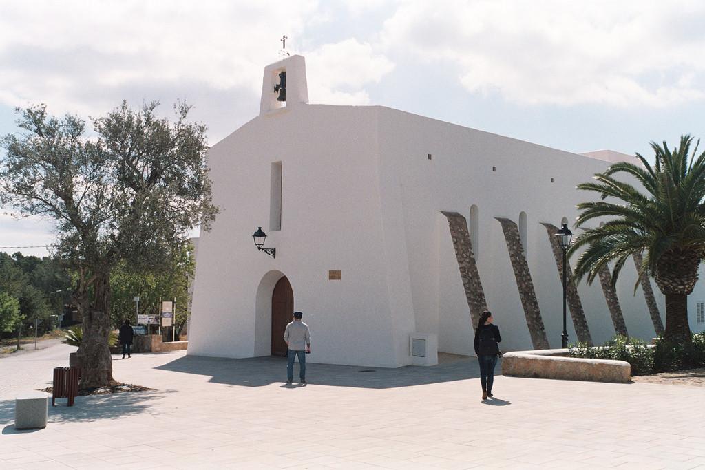 Iglesia de Es Cubells, Ibiza
