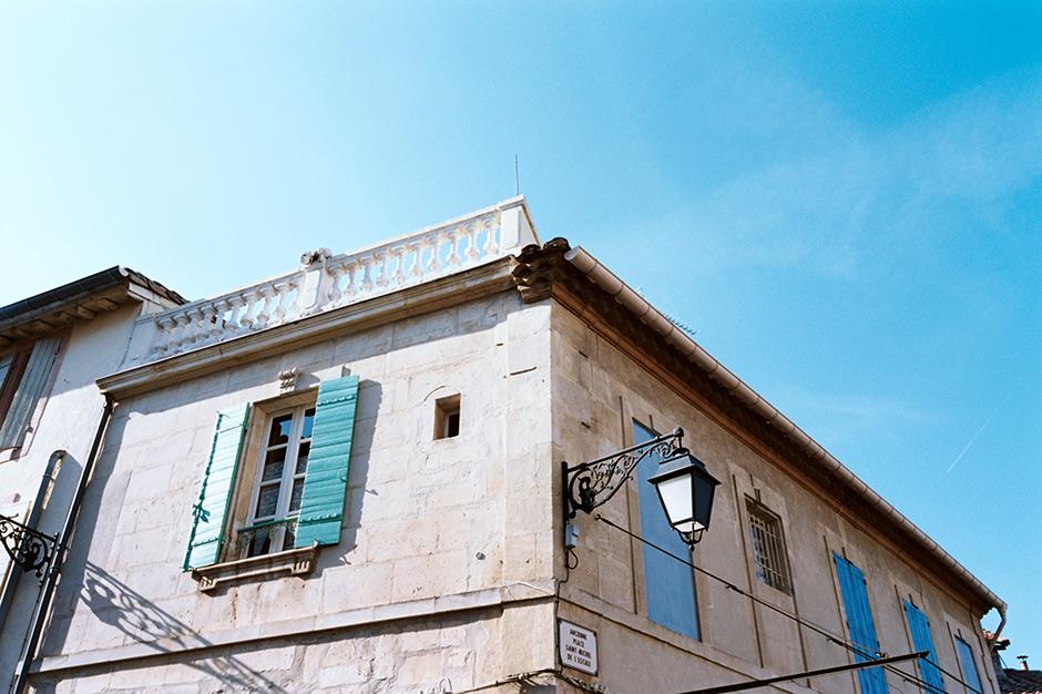 Fachadas de Arles