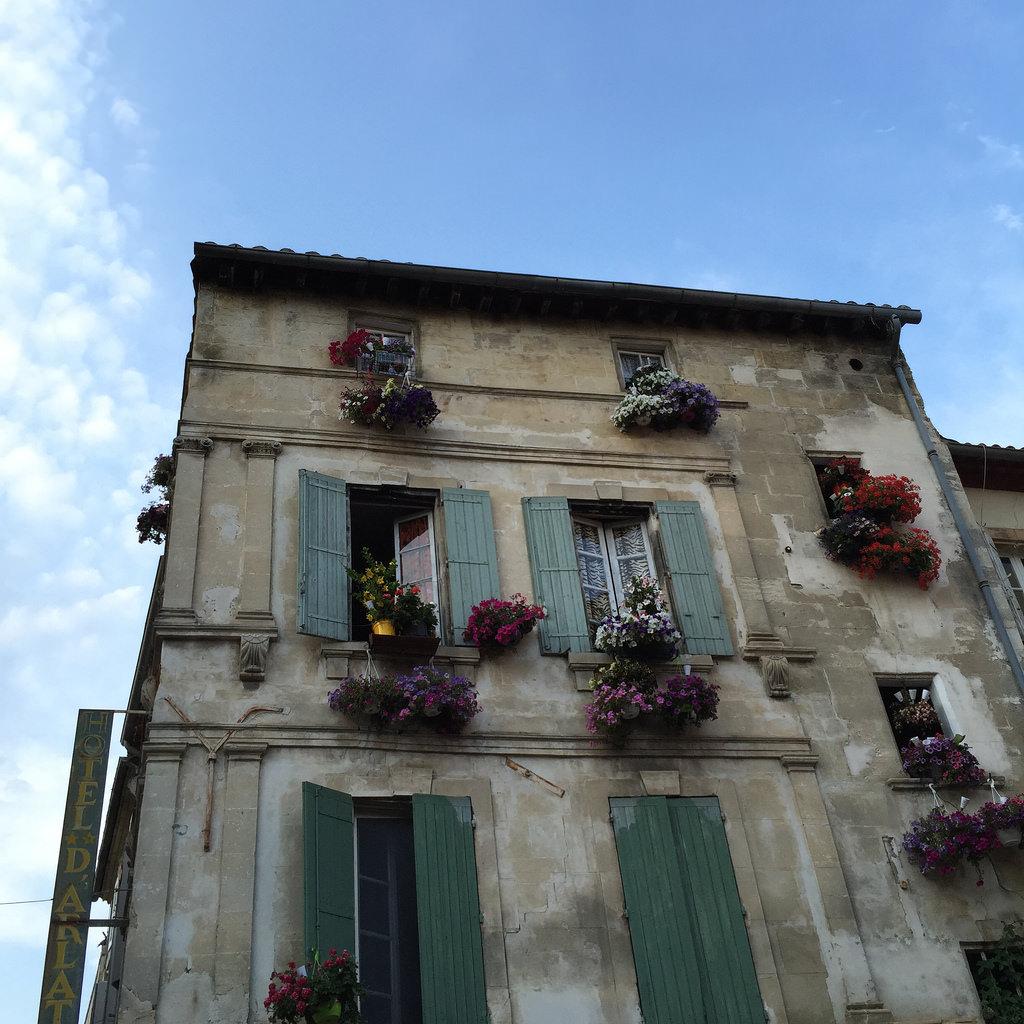 Arles, barrio de La Roquette