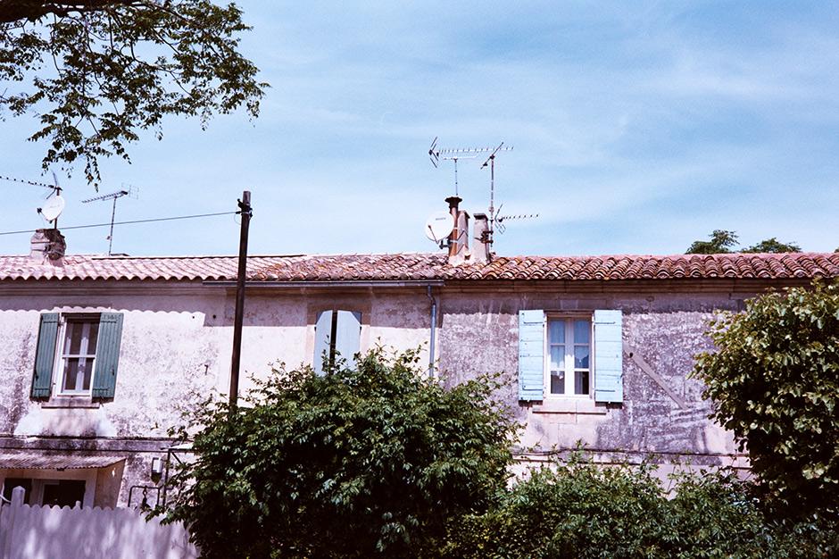 Fachadas y colores de la Provenza francesa