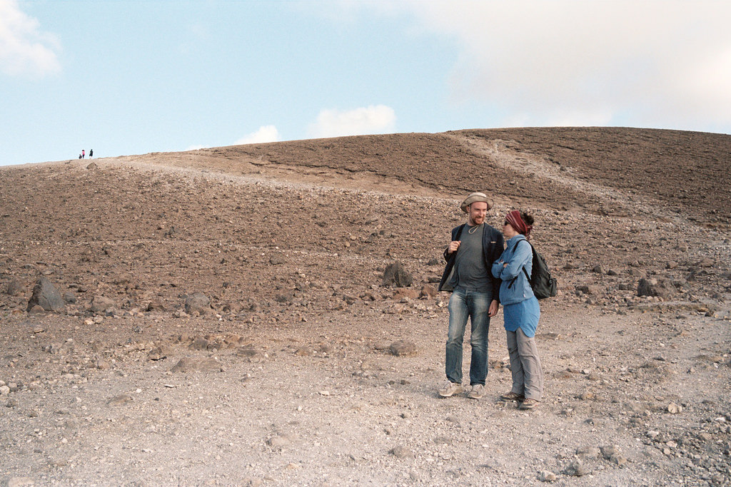 Turistas en Vulcano
