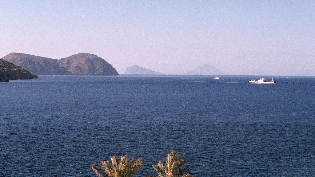 Vistas desde mi terraza en el Therasia resort
