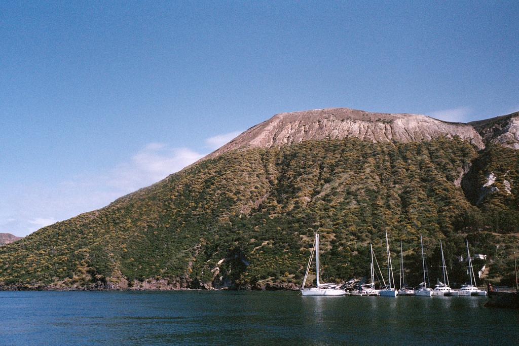Volcán La Fossa en Vulcano