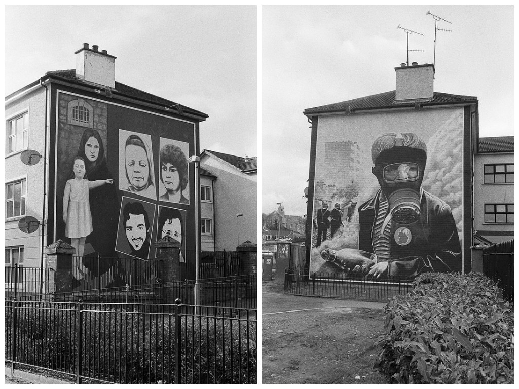Derry, murales reivindicativos