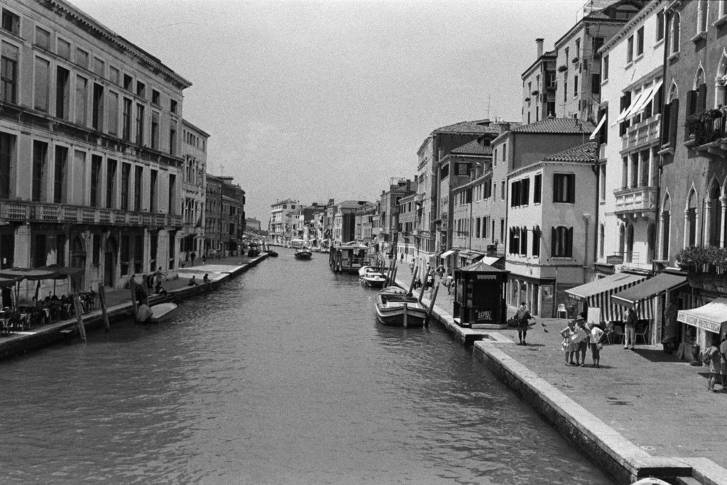 Canales de Cannaregio en Venecia