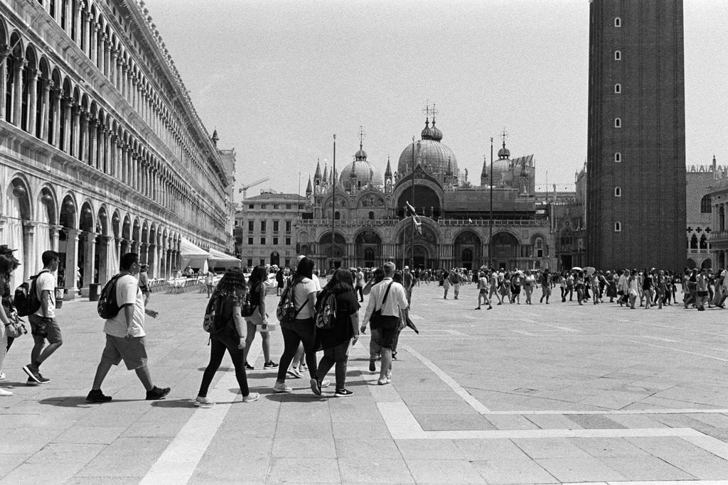 Piazza de San Marco en Venecia