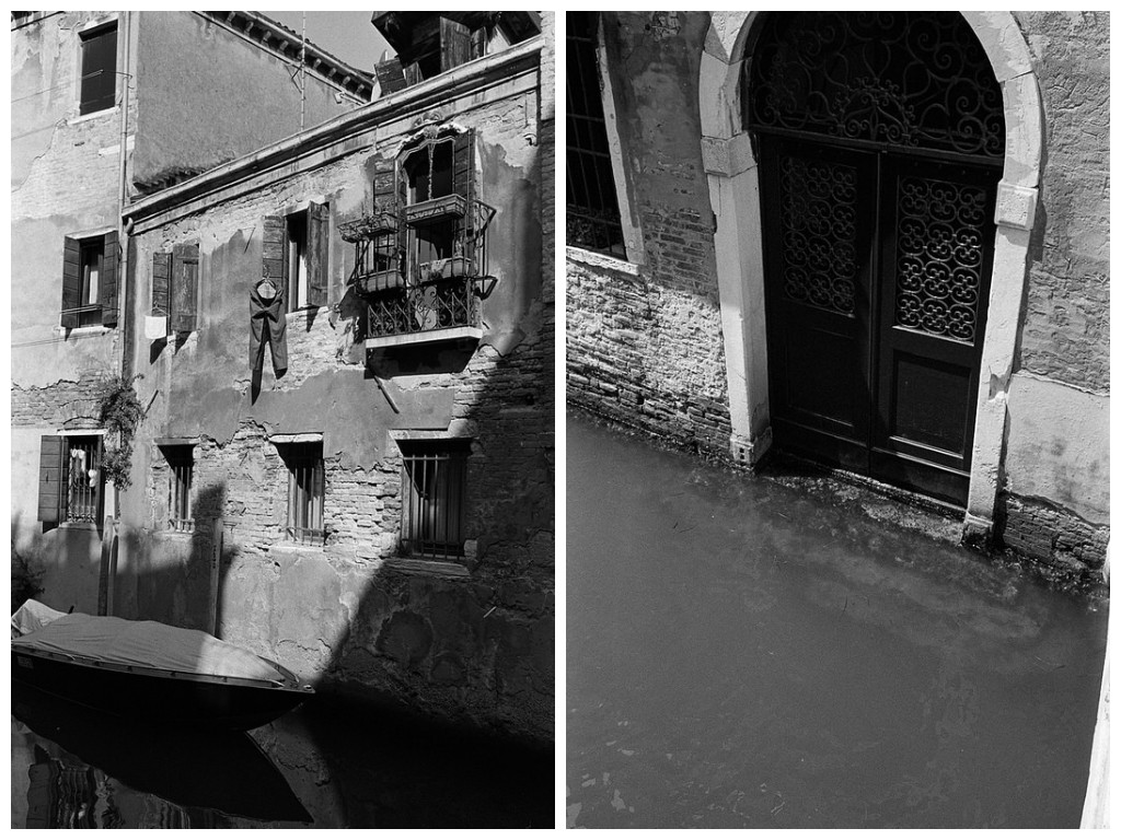 Calles tranquilas de Venecia