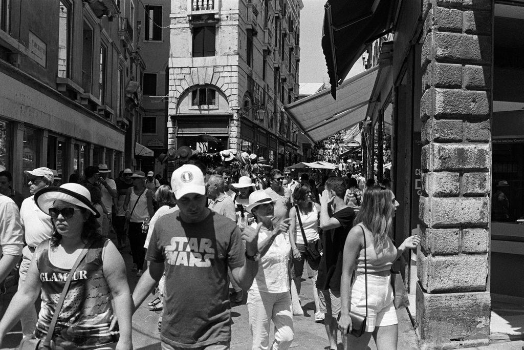Venecia tomada por los turistas