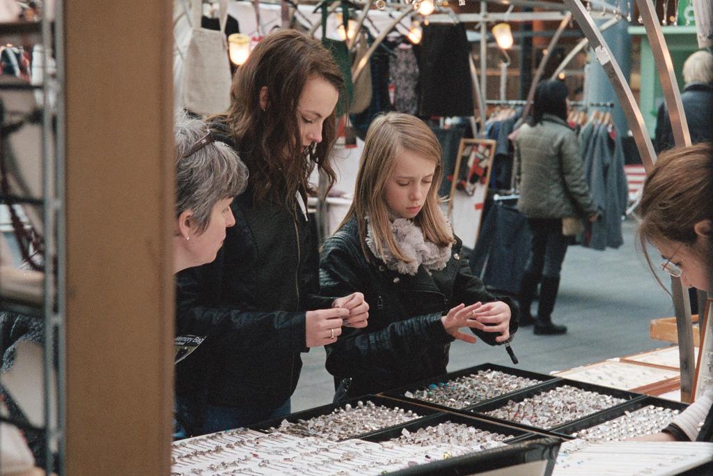 De compras en Oldspitalfields Market