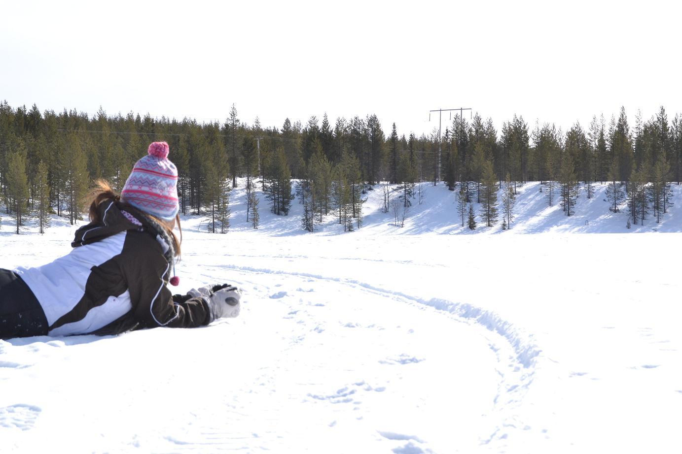 Historias de Laponia: Ricardo y los vecinos de Vuollerim