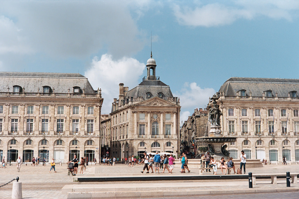 Place de la Bourse, Burdeos
