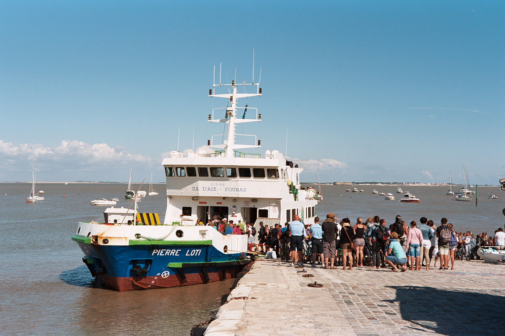 Transbordador a la isla de Aix en Fouras