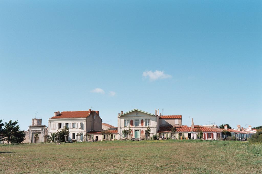 Casas de la isla de Aix