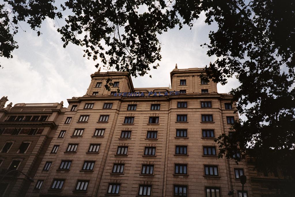 Fachada del Avenida Palace de Barcelona