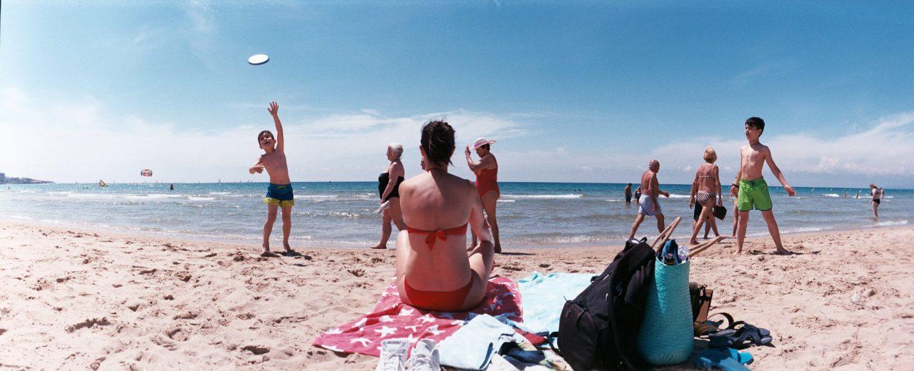 Panorámica playa de Salou
